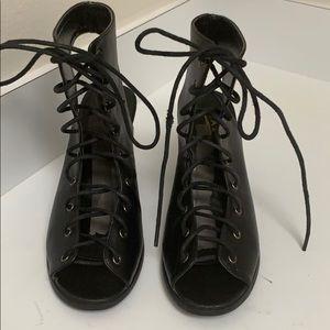Glaze gladiator shoes